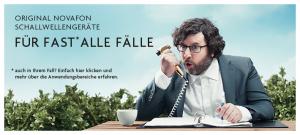 Original NOVAFON Schallwellengeräte